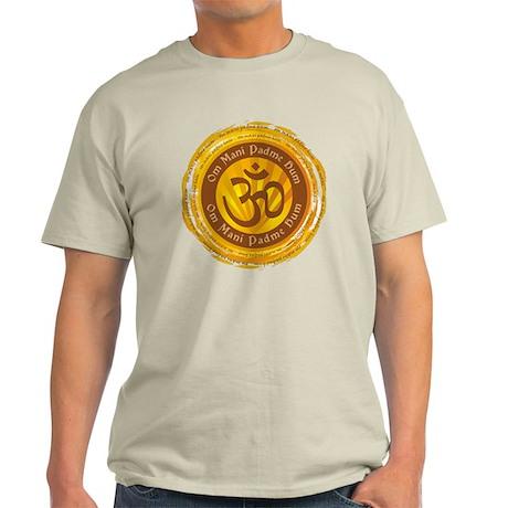Tibetan Mantra Om Symbol Light T-Shirt