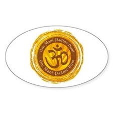 Tibetan Mantra Om Symbol Decal