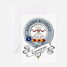 Cameron Clan Badge Greeting Cards (Pk of 10)