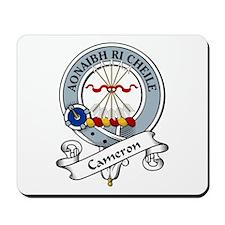 Cameron Clan Badge Mousepad