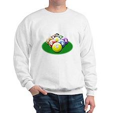 9-ball rack Sweatshirt