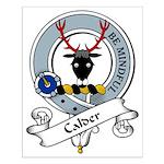 Calder Clan Badge Small Poster