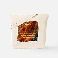 Poetry (Acrostic Poem) Tote Bag