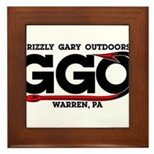 Grizzly Gary Outdoors Hook Framed Tile