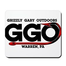 Grizzly Gary Outdoors Hook Mousepad