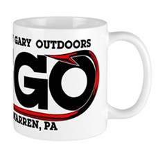 Grizzly Gary Outdoors Hook Small Mug