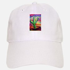 Cactus, Colorful, Baseball Baseball Cap
