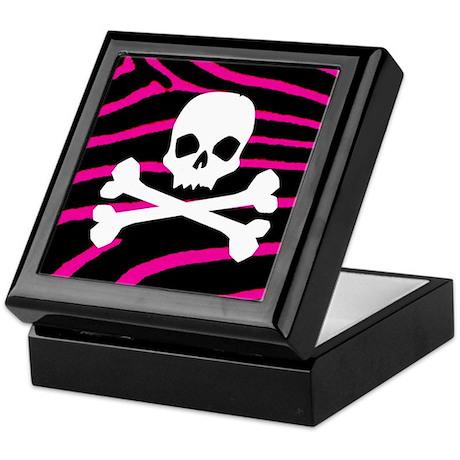 Goth Skull Keepsake Box