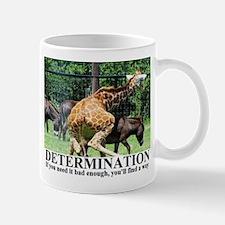 DETERMINATION1 Mugs
