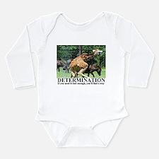 Unique Donkies Long Sleeve Infant Bodysuit