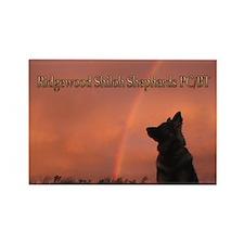 Ridgewood's Rectangle Magnet :2011