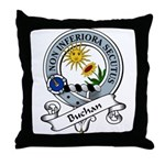 Buchan Clan Badge Throw Pillow