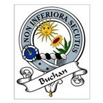Buchan Clan Badge Small Poster