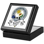 Buchan Clan Badge Keepsake Box