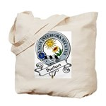 Buchan Clan Badge Tote Bag