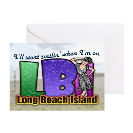 Smilin' on the Island... Greeting Cards (Package o