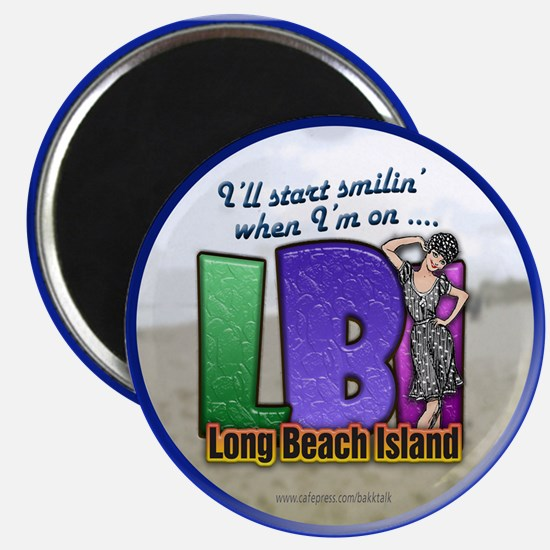 Smilin' on the Island... Magnet
