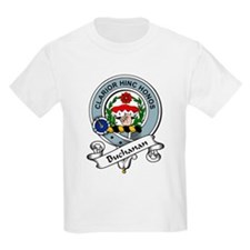Buchanan Clan Badge Kids T-Shirt