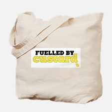 Fuelled by Custard Tote Bag