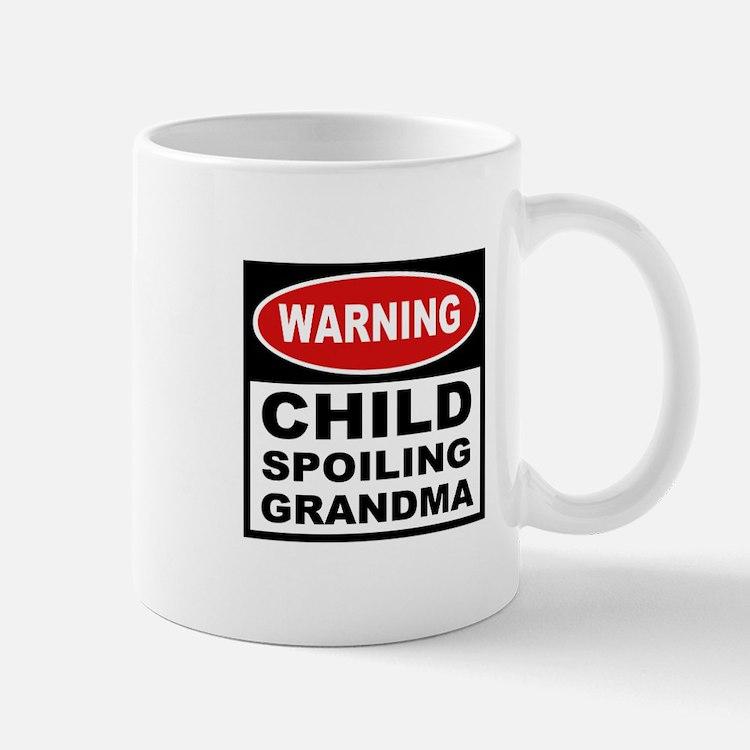 Child Spoiling Grandma Mug