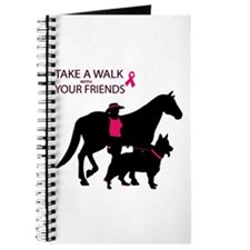 Unique Think pink Journal