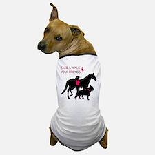 Cute Think pink Dog T-Shirt