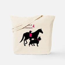 Unique Walk for a cure Tote Bag