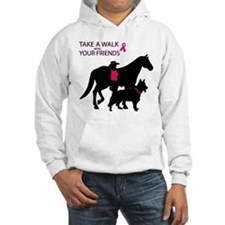 Unique Dogs cancer Hoodie