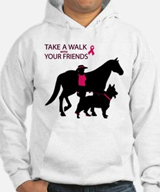 Funny Cancer and dogs Hoodie