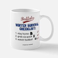"""Buffalo Winter Survival"" Mug"