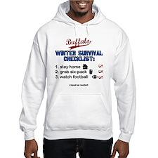 """Buffalo Winter Survival"" Hoodie"