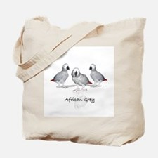 african grey parrot Tote Bag