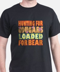 Hunting For Cougars T-Shirt