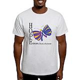 Bladder cancer Mens Light T-shirts