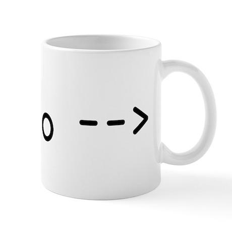 """HTML """"no"""" comment Mug"""