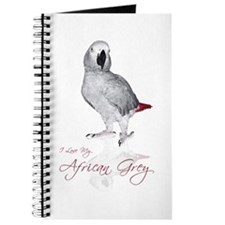i love my african grey Journal