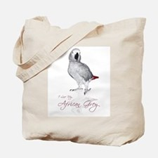 i love my african grey Tote Bag