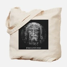 Jesus Loves You! Shroud of Tu Tote Bag