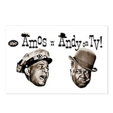 Amos 'n' Andy Postcards (Package of 8)