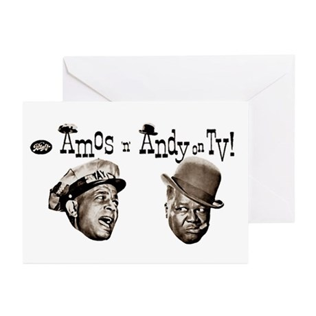 Amos 'n' Andy Greeting Cards (Pk of 10)