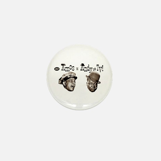 Amos 'n' Andy Mini Button