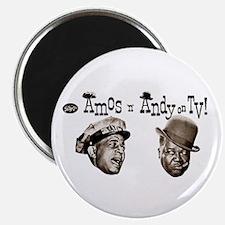 "Amos 'n' Andy 2.25"" Magnet (100 pack)"