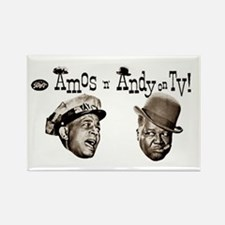 Amos 'n' Andy Rectangle Magnet (10 pack)