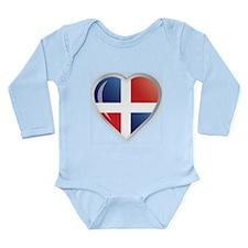 REP. DOMINICANA Long Sleeve Infant Bodysuit