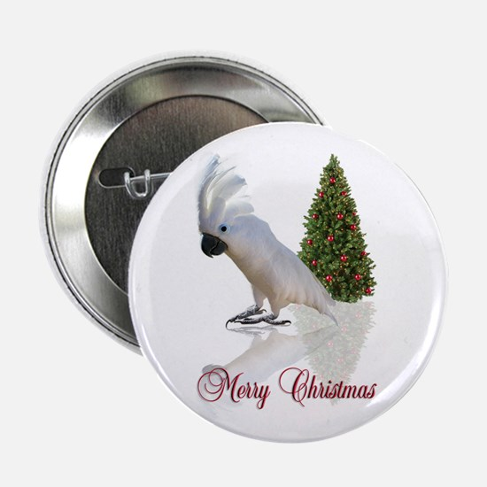 "cockatoo christmas 2.25"" Button"
