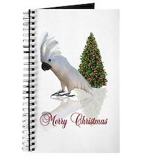 cockatoo christmas Journal