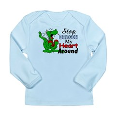 Dragon My Heart Long Sleeve Infant T-Shirt