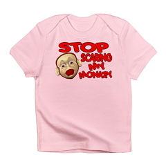 Scared Monkey Infant T-Shirt