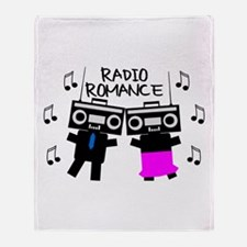Radio Romance Throw Blanket