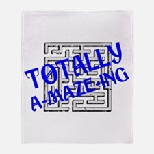 Totally A-maze-ing Throw Blanket